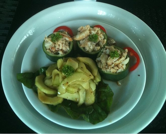 Crab Cucumber Salad