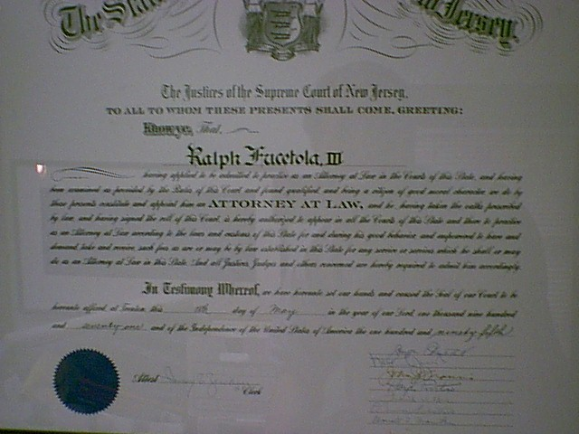 Law License